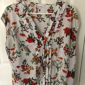 Floral NY&Co blouse